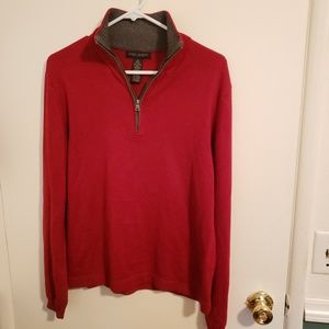 Banana Republic - red & grey sweater
